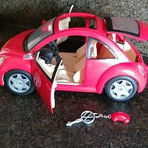 Barbie Mattel red VW